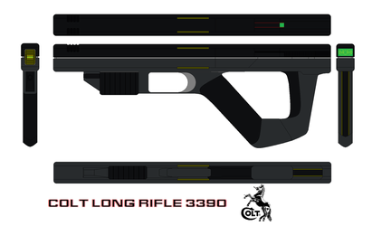 Colt long rifle 3390 by bagera3005