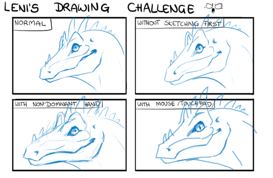 Drawing Challenge by Xaishi