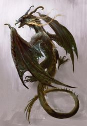 Dragon by Manzanedo