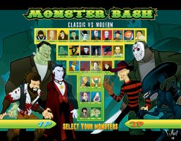 Monster Bash by WarBrown