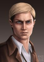 Erwin Smith by trixdraws