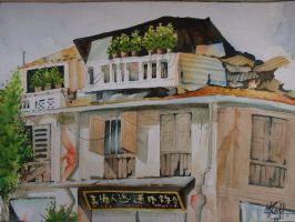 Chinese Shop House by missmiakomyori