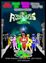 MMPR AND TMNT MOVIE by CaptainBarringer