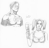 Random character sketches 4 by RV1994