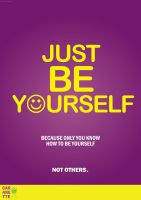 Be Yourself by caranette