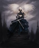 Dark Angel of Hawyn by Lucastorquato27
