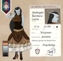 AD: Dr. Midnight Barbara Carm by xLittleBigChaosx
