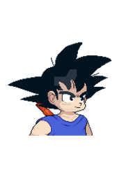 Kid Goku by TechM8