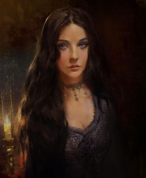 Ashara Dayne by BellaBergolts