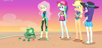 MLP EQG Aw...Baby Turtles  Moments 3 by Wakko2010