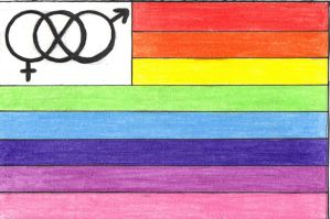 GLBT Flag by artsablast