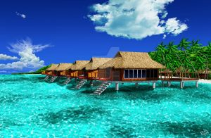 Paradise resort. by Chromattix