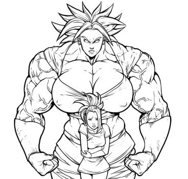 Kale Lineart by r2roh