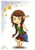 Little chibi : Eryn by sarya-atelier