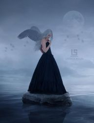 Angels Among Us by mysolitaryground