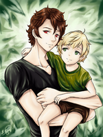 Father and son^^ by ProNastya