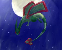 9# Draw your fav 3rd gen pkmn : Flygon by Bapazu