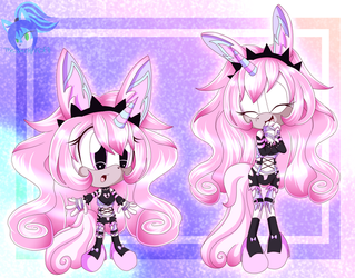 .:AT:. Sweet Dreams and Pastel Chibis by TheSparklyMisfit