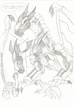 dragotron meets gigatron and squall by NEO-Lexamus-Prime