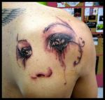 pretty eyes tattoo by sooj