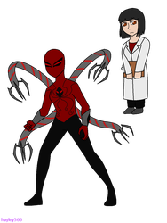 Doctor Octopus of universe 4266 by hayley566