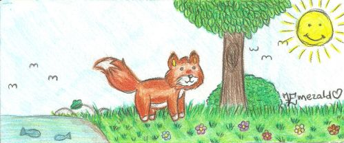 The Foxie fast drawing QwQ by LoveEmerald