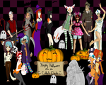 Collab Club 1st Annual Halloween Collab by ViridiVulpes