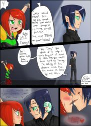 Laney and Corey(Networked)-Grojband mini comic by MESS-Anime-Artist