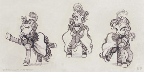 Pinkie's Can Can Costume by KP-ShadowSquirrel