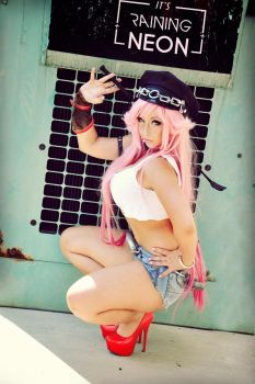 Poison -Street Fighter by Its-Raining-Neon