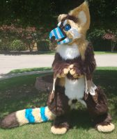 Pancan fursuit for sale by bunnypotatofurs