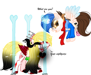 .:GIFT:.[[What are you?]] by MLPCrystalHarmony