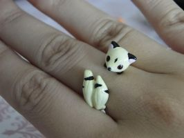 Kirara Polymer Clay Ring by sanxcharms