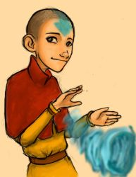Aang by Mik-Mixter-Mik