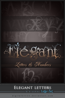 Elegant Letters LS by ObsessiveDezign