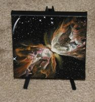 Butterfly Nebula by crazycolleeny