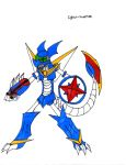 Cyber-Veemon by Geomax212