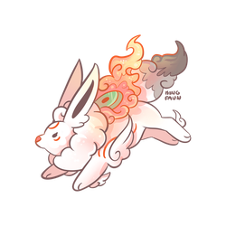 Ammy Eevee by faundly