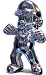[3D Render] METAL MARIO by MaxiGamer
