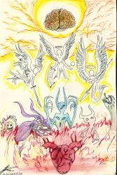 from where Angels and Demons come from by 23seele