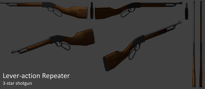 Lever-action Repeater by blizzardblast101