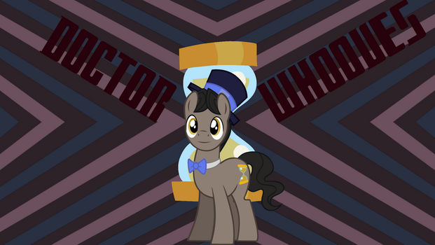 11th Doctor Whooves [Wallpaper] by SonicRainBoomFTW