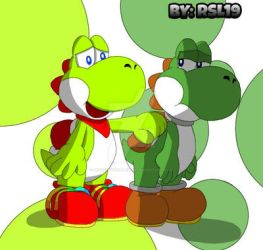 True Yoshi Friends isn't Left Behind... by Greeny-Yoshi-RSL19