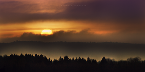 Sunset In Wilderness by DREAMCA7CHER