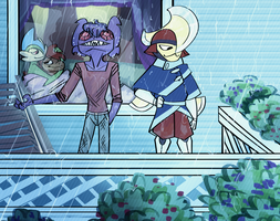 The April Showers Bois and Yuri by fluffyz