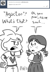 Ask Wilfreda - Agactor factor by megawackymax