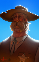 Old West Dude by griffinator
