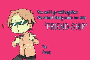 Happy Valentine's Day, Bruh by Cioccolatodorima