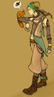 Jhansi the pirate by julip