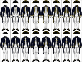 Uniforms of the Royal Navy, 1787-1795 by CdreJohnPaulJones